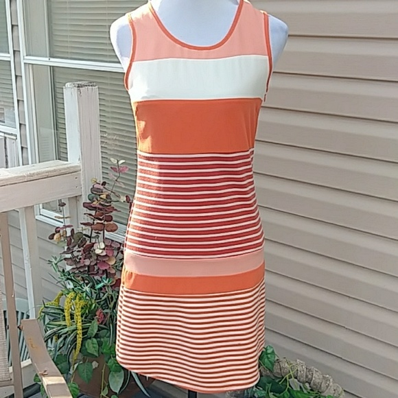C. Luce Dresses & Skirts - Adorable orange striped dress
